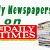 NAIJA NEWSPAPERS: TODAY'S THE DAILY TIMES NEWSPAPER HEADLINES [11 DECEMBER, 2017].