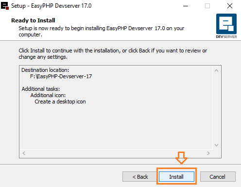 How To Install EasyPHP Devserver On Windows 10 | Show Databases On phpMyAdmin  6