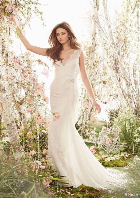 vestidos de novia sencillos para boda civil de dia