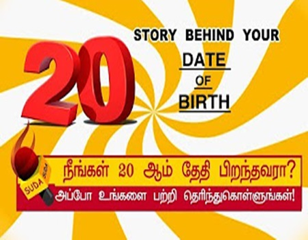 Story behind your date of birth 20