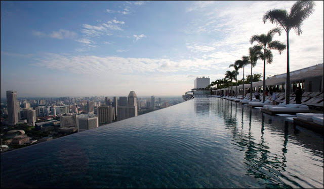 WORLD's HIGHEST SWIMMING POOL