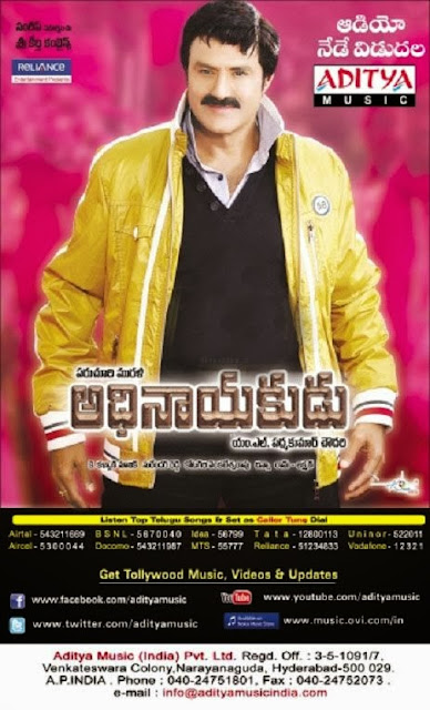 The Action Man Adhinayakudu (2012) Hindi Dubbed Web Rip 700mb