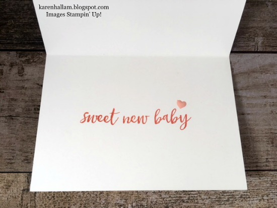 Baby Love Note Card