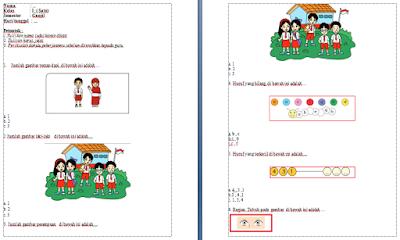 Soal Tematik Kelas 1 SD Semester 1 Kurikulum 2013 - Soal Tematik Kelas 1 SD Semester 2 Kurikulum 2013