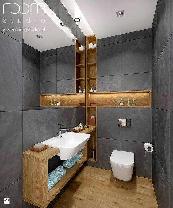 Modern toilet design decor units Toilet room design ideas
