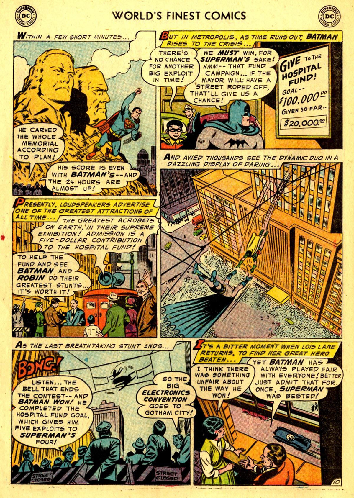 Read online World's Finest Comics comic -  Issue #76 - 12
