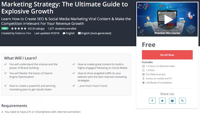[100% Free] Marketing Strategy: The Ultimate Guide to Explosive Growth