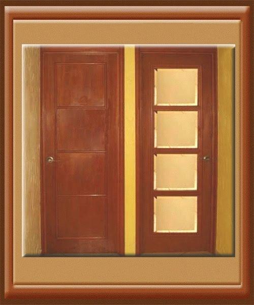 Carpinter a la fe de dios puertas principales y de for Puertas para recamaras baratas