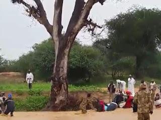 Detik Detik Prajurit TNI di Darfur Selamatkan Warga yang Terseret Arus