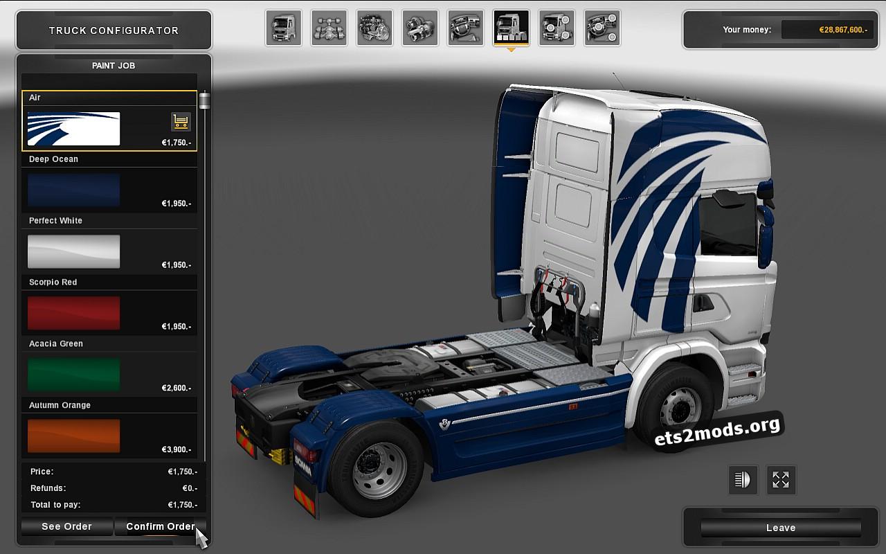 Scania Streamline Air Skin