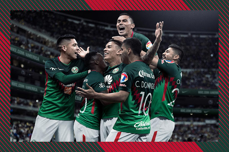 37728ff96aa Stunning Mexico-Inspired Nike Club America 2018 Fourth Kit Released ...