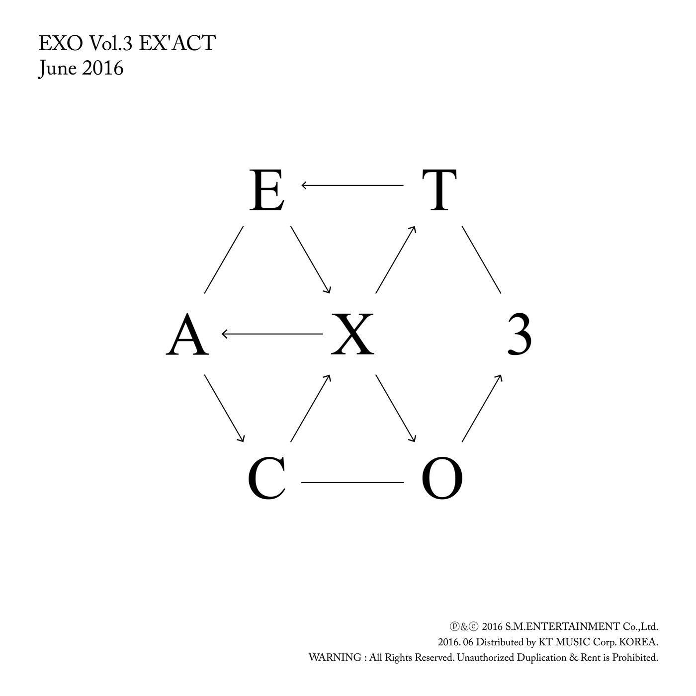 Album] EXO – EX'ACT – The 3rd Album (Korean + Chinese Version) | as