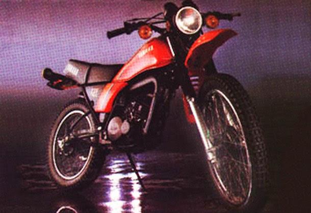 moto DT 180 1982