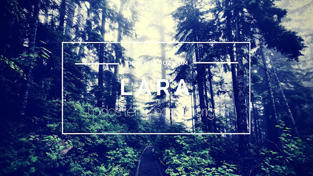 Significado del Nombre Lara ¿Que Significa?