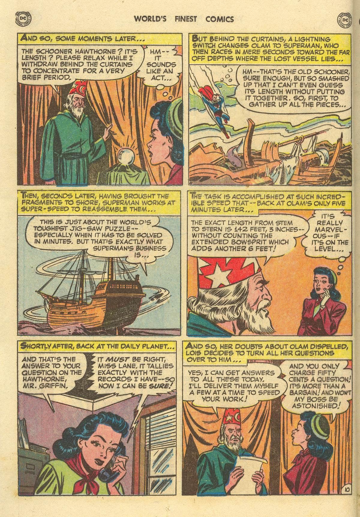 Read online World's Finest Comics comic -  Issue #51 - 12