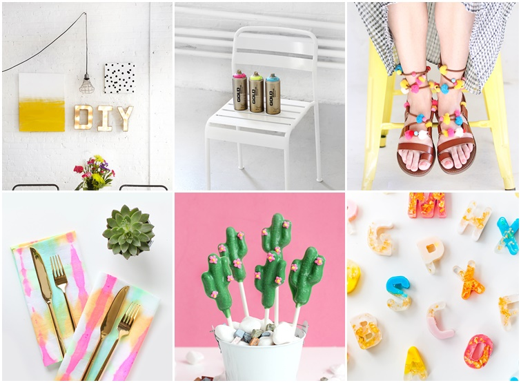 6 diy imprescindibles y muy coloristas