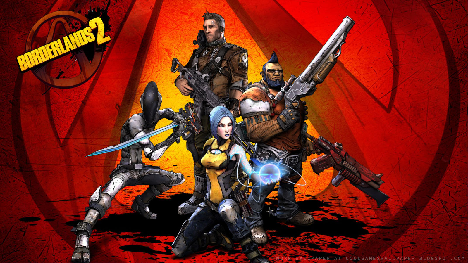 borderlands 2 hd wallpaper - cool games wallpaper