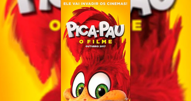 Pica Pau: cartaz nacional do longa de animação do famoso personagem – Reprodução