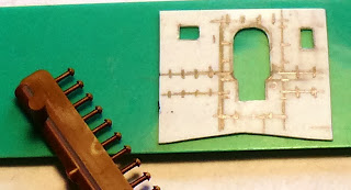 Ports cut, rivet details