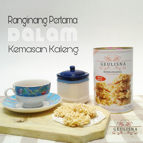 Beli oleh-oleh Ranginang Geulisna di Bandung