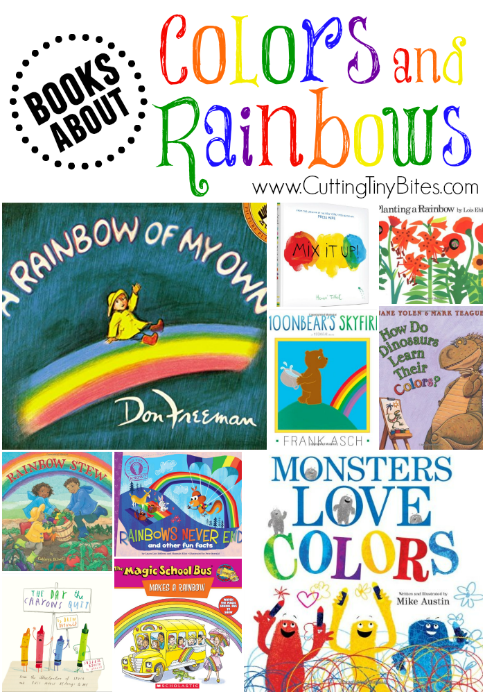 Kids Picture Books About Rainbows and Colors
