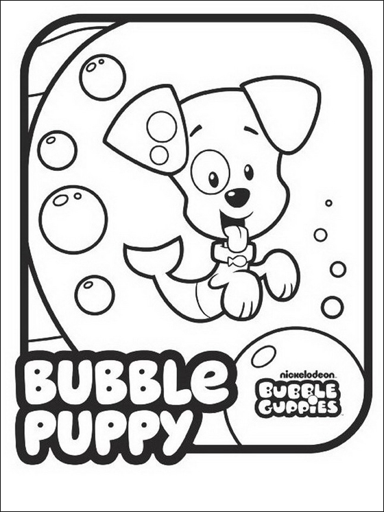 bubble guppies printable coloring pages - bubble guppies coloring pages coloring pages