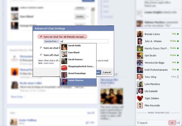 Facebook Hide Status From Specific Users