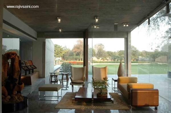 Arquitectura de casas una casa moderna en la india for Casas modernas por dentro