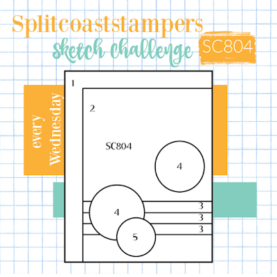 card sketch 804 splitcoaststampers challenges stampin' up! nicole steele the joyful stamper independent stampin' up! demonstrator