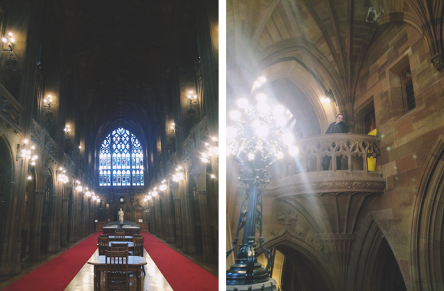 Inside John Rylands Library