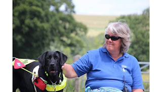 Mum and Me - Guide Dog Oakley