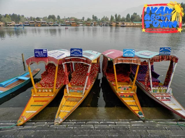 Srinagar houseboat accommodation shikara