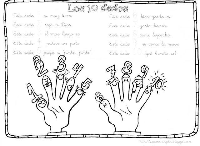 Clasedereli Niños Del Mundo: Clasedereli: Contando Hasta Diez