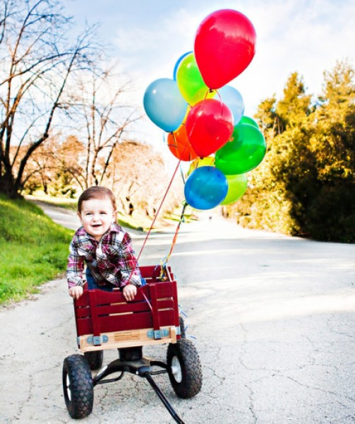 أفكار لتصوير طفلك فى عيد ميلاده الأول