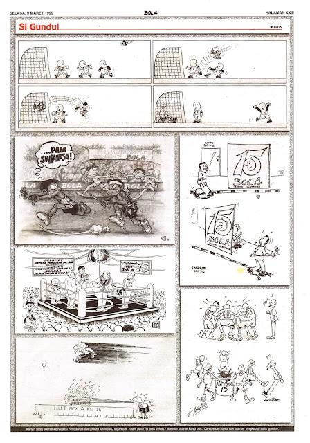 Si Gundul EDISI NO. 882 / SELASA, 9 MARET 1999