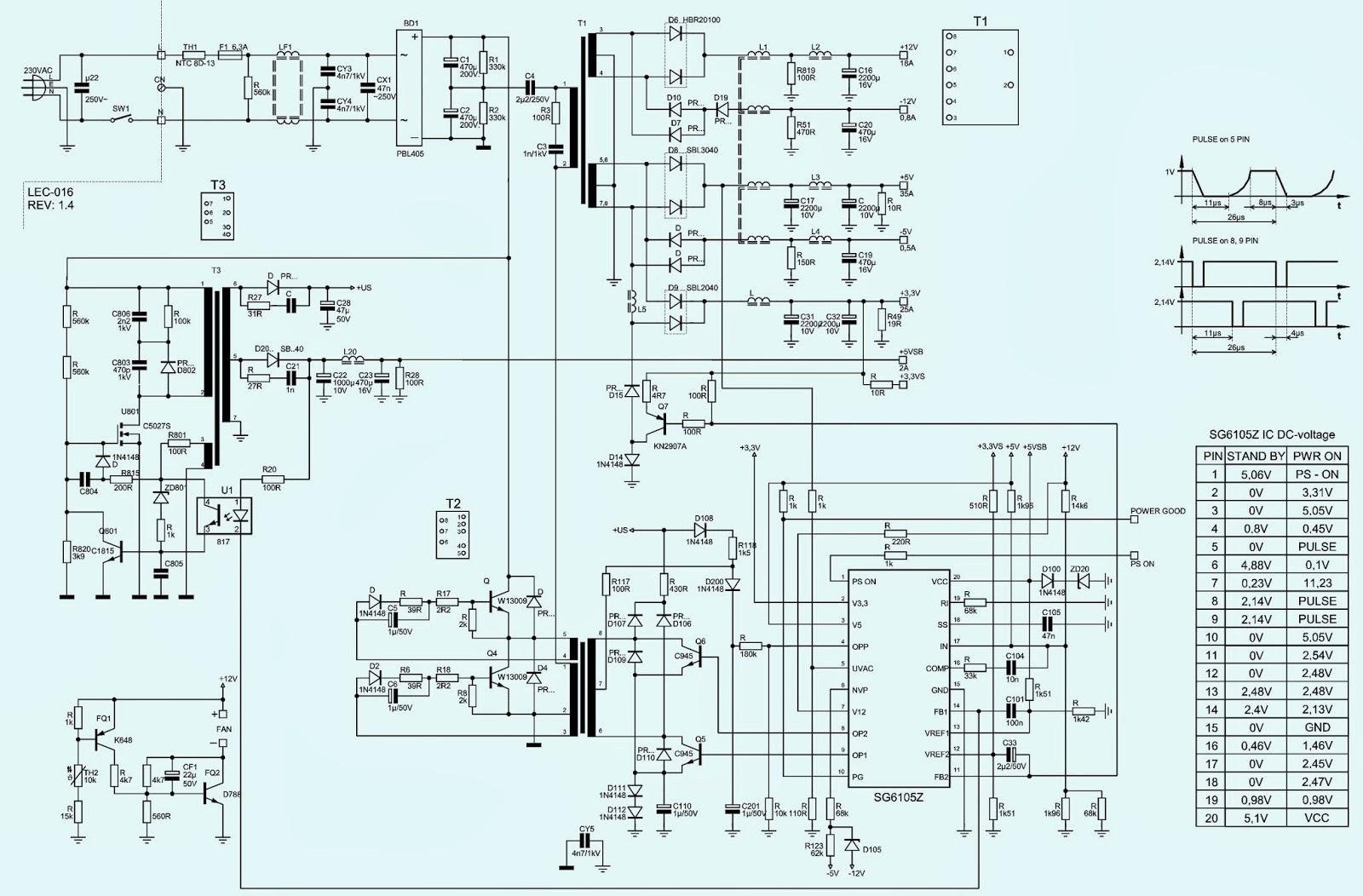 Electro help: KOBAP4450XA  450W ATX  POWER SUPPLY