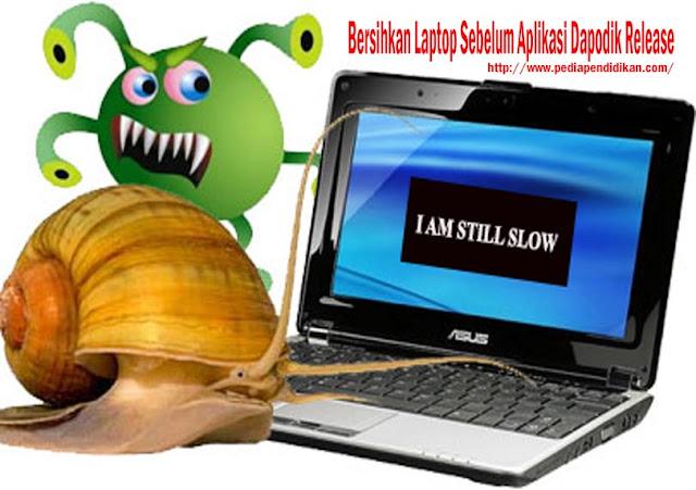 Bersihkan Laptop atau Komputer Sebelum Aplikasi Dapodik Terbaru Release