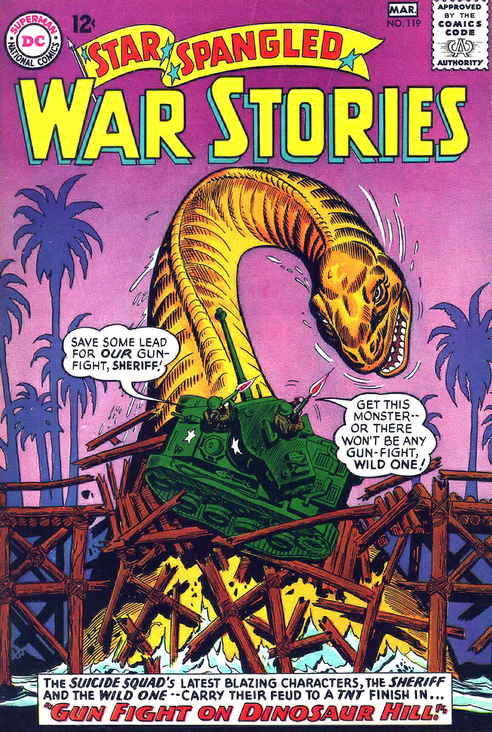 Star Spangled War Stories (1952) issue 119 - Page 1
