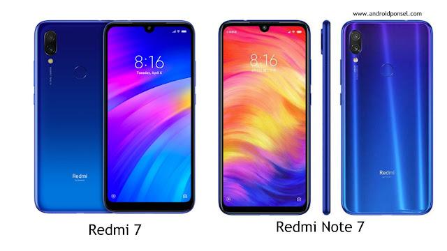 Perbandingan Spesifikasi Redmi 7 dengan Redmi Note 7, Lengkap!