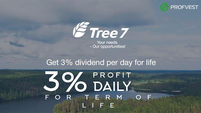 Tree7 обзор и отзывы вклад 350$