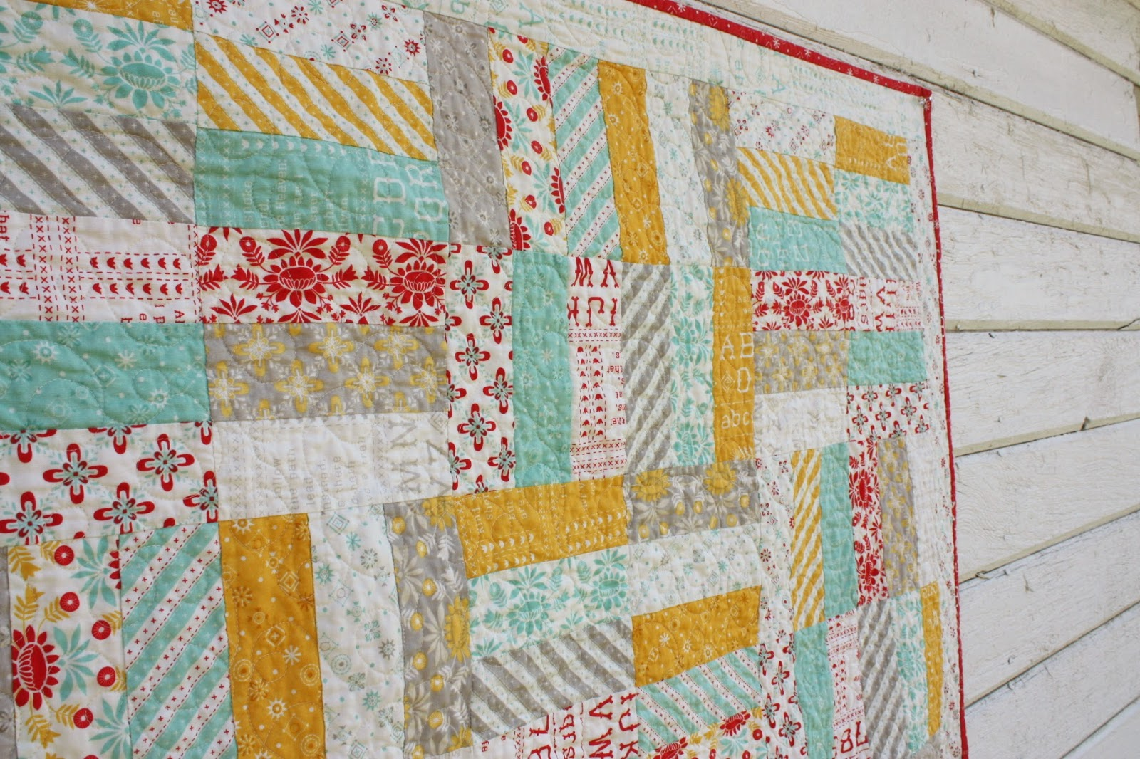 Easy Baby Jelly Roll Quit Pattern - Diary of a Quilter - a quilt blog : quilts from jelly rolls - Adamdwight.com