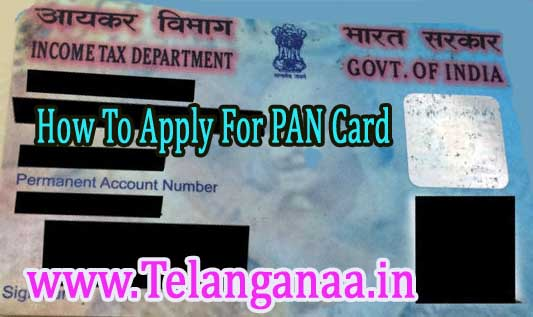 New Pan Card Online Apply