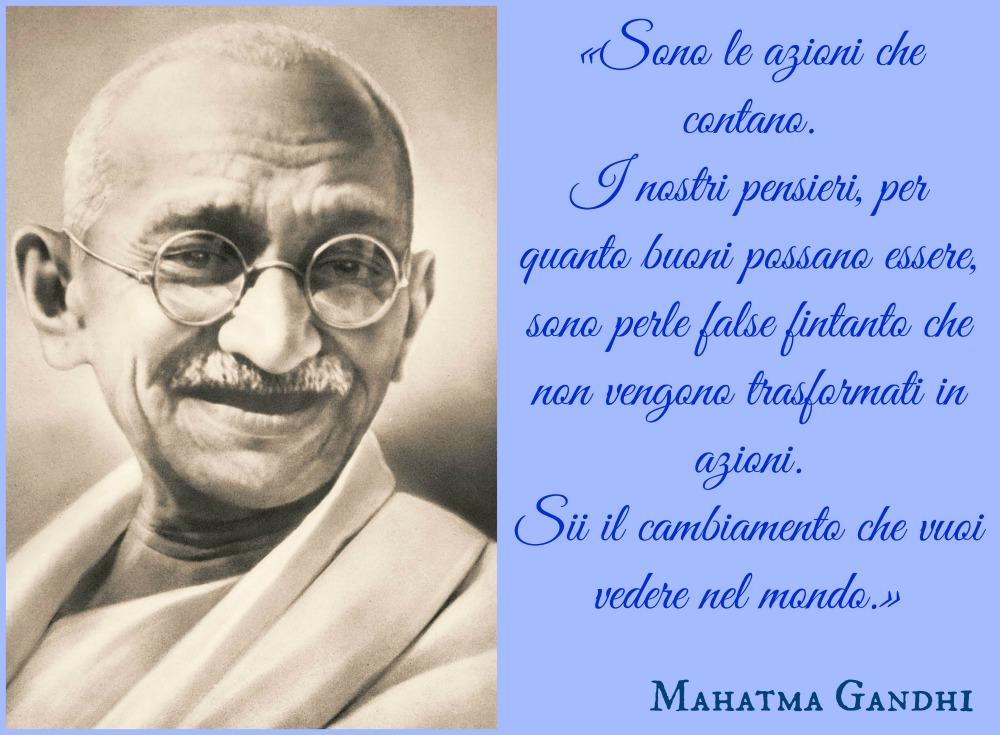 Frasi Di Gandhi In Inglese
