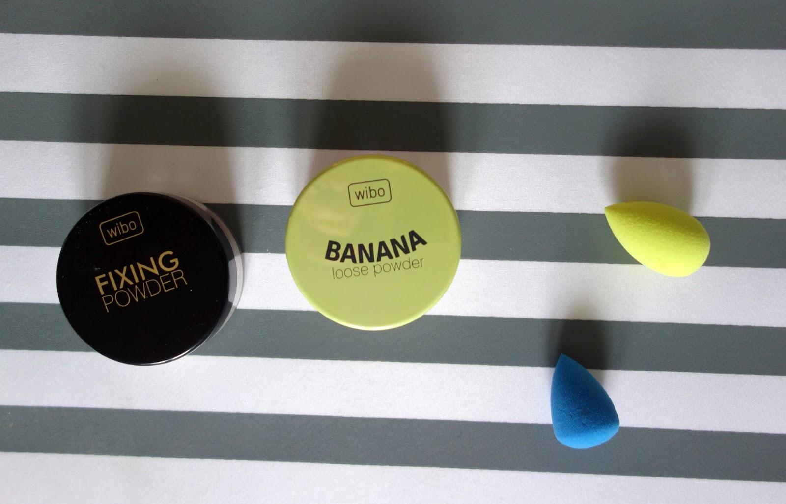 Pudry sypki Wibo Fixing & Banana - który lepszy? | Porównanie + swatche