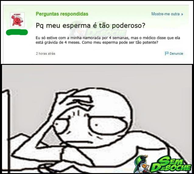 ESPERMA PODEROSO