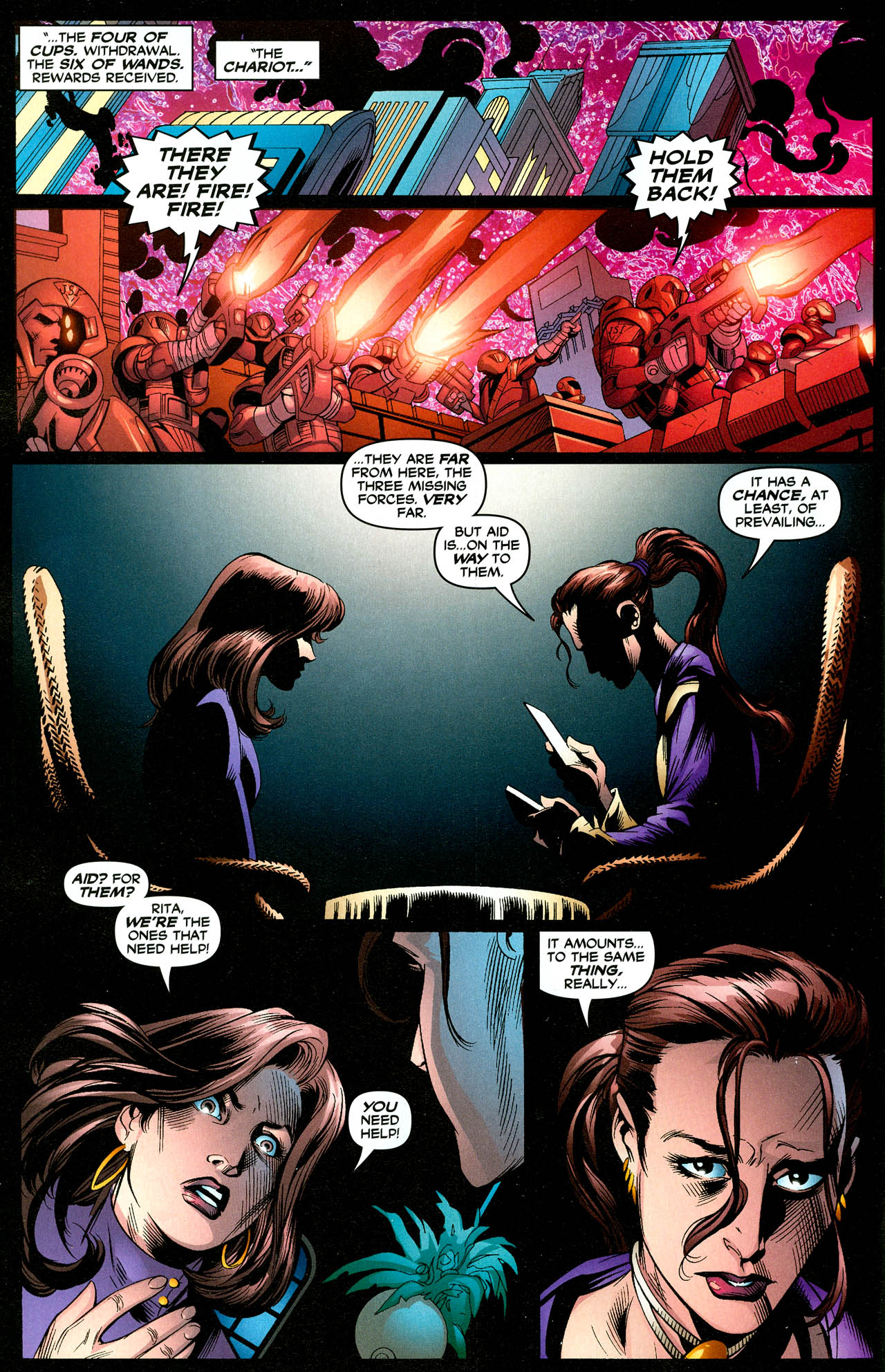 Read online Trinity (2008) comic -  Issue #29 - 9