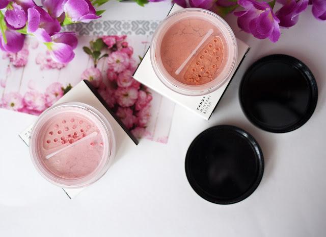 Lily Lolo, Mineralny róż do policzków w odcieniach Cherry Blossom oraz Candy Girl