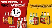 Logo ''Peroni & Conad'': vinci 60 buoni spesa da 100€