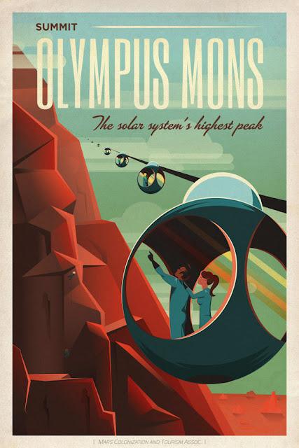 poster 2 - de viagem para Marte - SpaceX