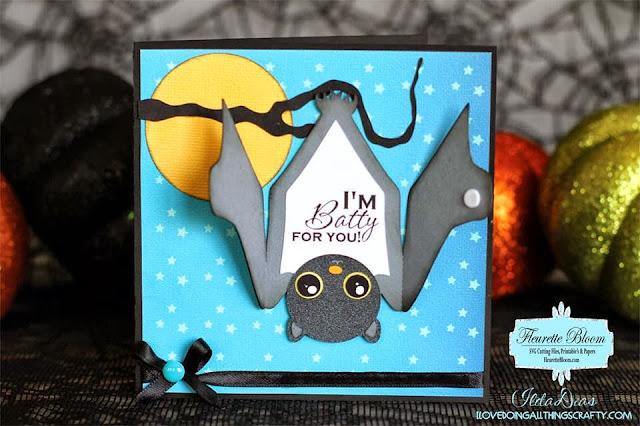 Batty For You Card Halloween Card | Ink On 3